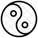 Harmony Religious Symbol Yin Yang Icon