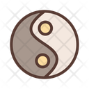 Yin Yang Sign Spa Icon