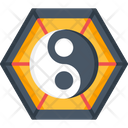 Yin Yang Ying Yang Sign Icon
