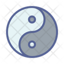 Yang Taoism Philosophy Icon