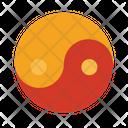 Yin Yang Taoism Yang Icon