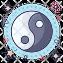 Yin Yang Cny Swirl Yin Yang Icon
