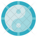 Alternative Medicine Yin Yang Chinese Icon