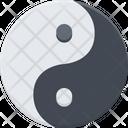 Yin Yang Taoism China Icon