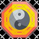 Yin Yang Cultures Balance Icon