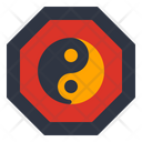 Yin Yang Chinese New Year Taoism Icon
