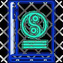 Yin Yang Book Icon