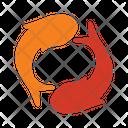 Yin yang koi Icon