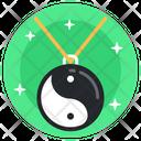 Yin Yang Locket Yin Yang Pendant Ornament Icon