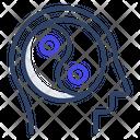 Yin Yang Meditation Icon