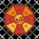 Yin yang mirror Icon