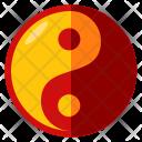 Ying Yang Chinese Icon