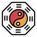 Ying Yang Spa Philosophy Icon