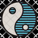 Yin Yang Balance Icon