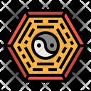 Taoism Ying Yang Icon