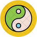 Yinyang Taoism Chinese Icon