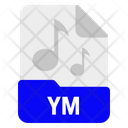 Ym File Format Icon