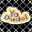 Comic Bubble Pop Art Media Bubble Icon