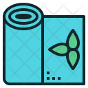 Yoga Mat Roll Icon