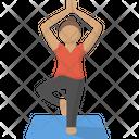 Exercise Fitness Meditation Icon