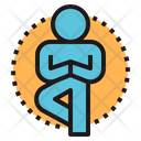 Yoga Mind Body Icon