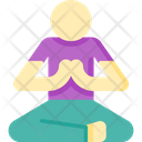 Yoga Meditation Spa Icon
