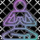 Yoga Meditation Spa Icon