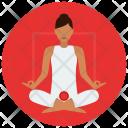 Chakra Root Meditation Icon