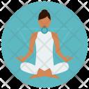 Chakra Throat Meditation Icon