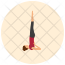 Supported Shoulder Stand Icon