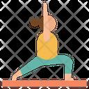 Yoga Fitness Leisure Icon