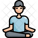 Meditate Meditation Activity Icon