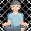Meditate Meditation Yoga Icon