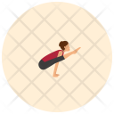 Firefly Yoga Pose Icon