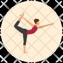 King Dancer Yoga Icon