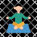 Yoga Exercise Meditation Icon