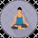 Yoga Meditation Exercise Icon