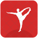 Slim Exercise Fit Icon