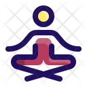 Yoga Sit Relax Icon