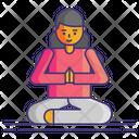 Yoga Relaxation Workout Icon