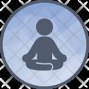 Yoga Meditation Mind Icon