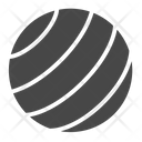 Yoga Ball Ball Excercise Ball Icon