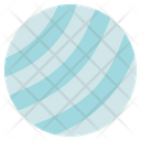 Fitness Gym Yoga Ball Icon