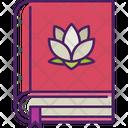 Yoga Book Book Education Icon