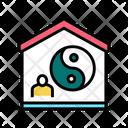 Yoga Home Color Icon