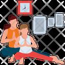 Yoga Exercise Physical Fitness Ashtanga Yoga Icon