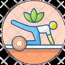 Yoga Exercise Asanas Meditation Icon