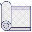 Yoga Mat Fitness Relax Icon