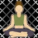 Yoga Pose Yoga Pose Icon