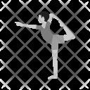 Yoga Pose Fitness Icon